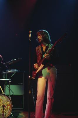 Eric Clapton of Blind Faith, Madison Square Garden, 1969