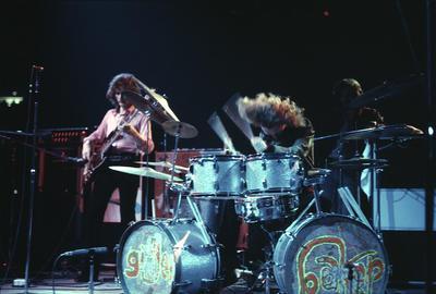 Ginger Baker of Blind Faith, Madison Square Garden, 1969