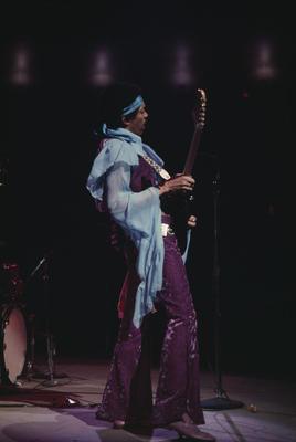 Jimi Hendrix, Madison Square Garden, 1969
